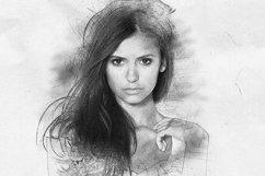 Hand Drawn Art Photoshop Action Product Image 5