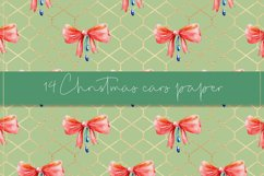 Christmas cars digital paper, seamless pattern Product Image 2