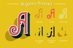 Sequents - Layered Font and ORNAMENT Product Image 2