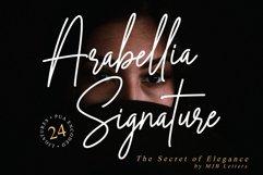 Arabellia Signature | Casual Handwritten Font Product Image 1
