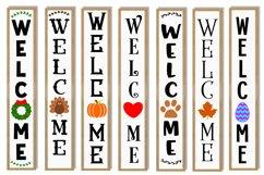 Vertical Welcome Sign Bundle - Porch Signs Bundle Product Image 3