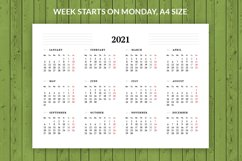 Monthly Planner 2021 Product Image 3