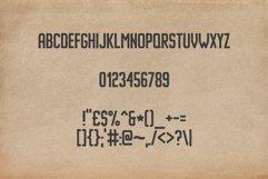 Imprimo Letterpress Font Product Image 3