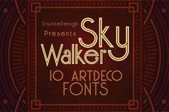 Skywalker - ArtDeco Typeface Product Image 1