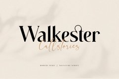 Walkester Font Duo Product Image 1