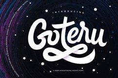 Goteru | Eyecatching Script Font Product Image 1