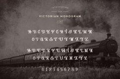 Web Font Victorian Monogram Font Product Image 5