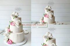 Mockup Cake Toppers Hexagon acrylic topper   JPEG Product Image 1