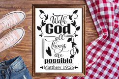 Bible verse SVG bundle, christian svg, blessed svg religious Product Image 7