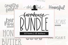 Farmhouse Font Bundle - Handwritten Fonts | Part 2 Product Image 1