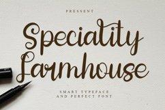 Speciality Farmhouse - Smart Script Font Product Image 1