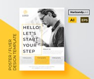 Step promotion flyer template Product Image 2