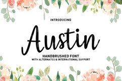 Austin Script Product Image 1