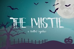 Web Font The Mistie Typeface Product Image 1