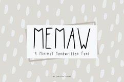 MeMaw - Web Font Product Image 1