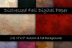Distressed Fall Textures - Fall and Autumn Backgrounds Product Image 1
