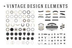 Vintage Design Elements Set Product Image 1