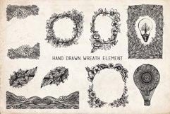 Floral Mandala Hand Drawn Set Product Image 6