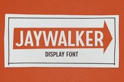 Jaywalker - Display Font Product Image 1