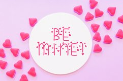 Candy Hearts Valentine Font Product Image 2