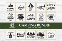 Camping svg bundle - outdoor adventure svg png eps dxf Product Image 3