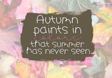 Pumpkin Season - A Cute Handwritten Font Product Image 5