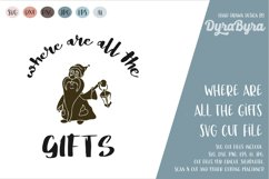 Where are all the Gifts SVG / Gnome SVG / Christmas SVG Product Image 2
