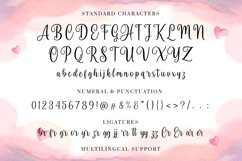 Peaceful Heart - Lovely Font Duo! Product Image 2