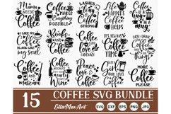 Coffee SVG Bundle, Coffee Svg, Coffee Cut Files, Coffee SVG Product Image 1