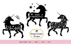 SVG Bundle Unicorn, Butterflies, Trees, Shoes Product Image 5
