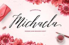Michaela Script Product Image 1