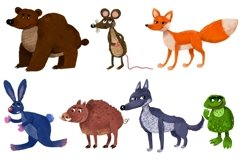 Forest animals/Autumn Product Image 6