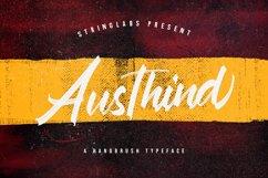 Austhind - Stylish Brush Font Product Image 1
