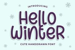 Hello Winter - Cute Handdrawn Product Image 1