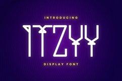 Web Font ITZYY Font Product Image 1