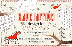 Slavic motives. Design kit. Product Image 1