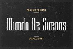 Web Font Mundo De Suenos Font Product Image 1