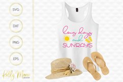 Long Days and Sunrays SVG File Product Image 1