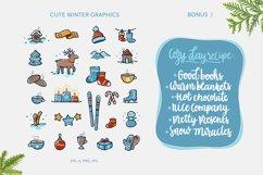 Winter Pleasures vector quote Product Image 3