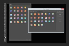 Gradient texture & Photoshop Layer Styles Product Image 2