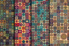 Tile mosaic seamless patterns collection Product Image 2