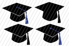 Blue Graduation Bundle Files / PNG, DXF, SVG / 14 Files Product Image 2