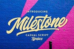 Milestone Casual Script Product Image 1