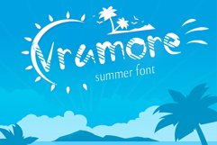 Vramore Summer Font Product Image 1