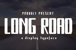 Long Road Product Image 1