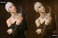 Macadamia Photoshop Actions And ACR Presets, Brown Ps action Product Image 5