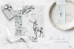 Winter Watercolors & Alphabets Product Image 5