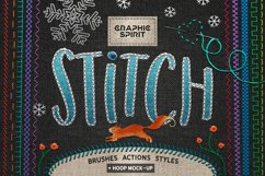 Ps STITCH: Brushes, Actions, Styles Product Image 1