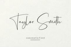 Canonatia // Handwritten Font Product Image 2