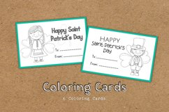 DIY Cards St. Patrick Special Coloring Educational Product Image 2